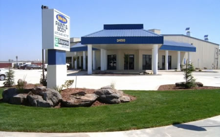 golden state paint and body tulare office